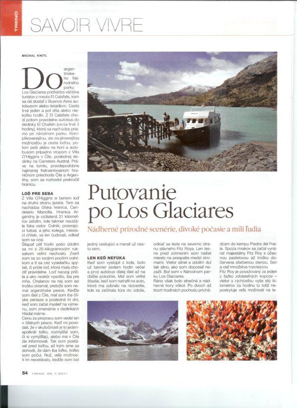2012-08-25 Trend - Putovanie po Los Glaciares (scan1)
